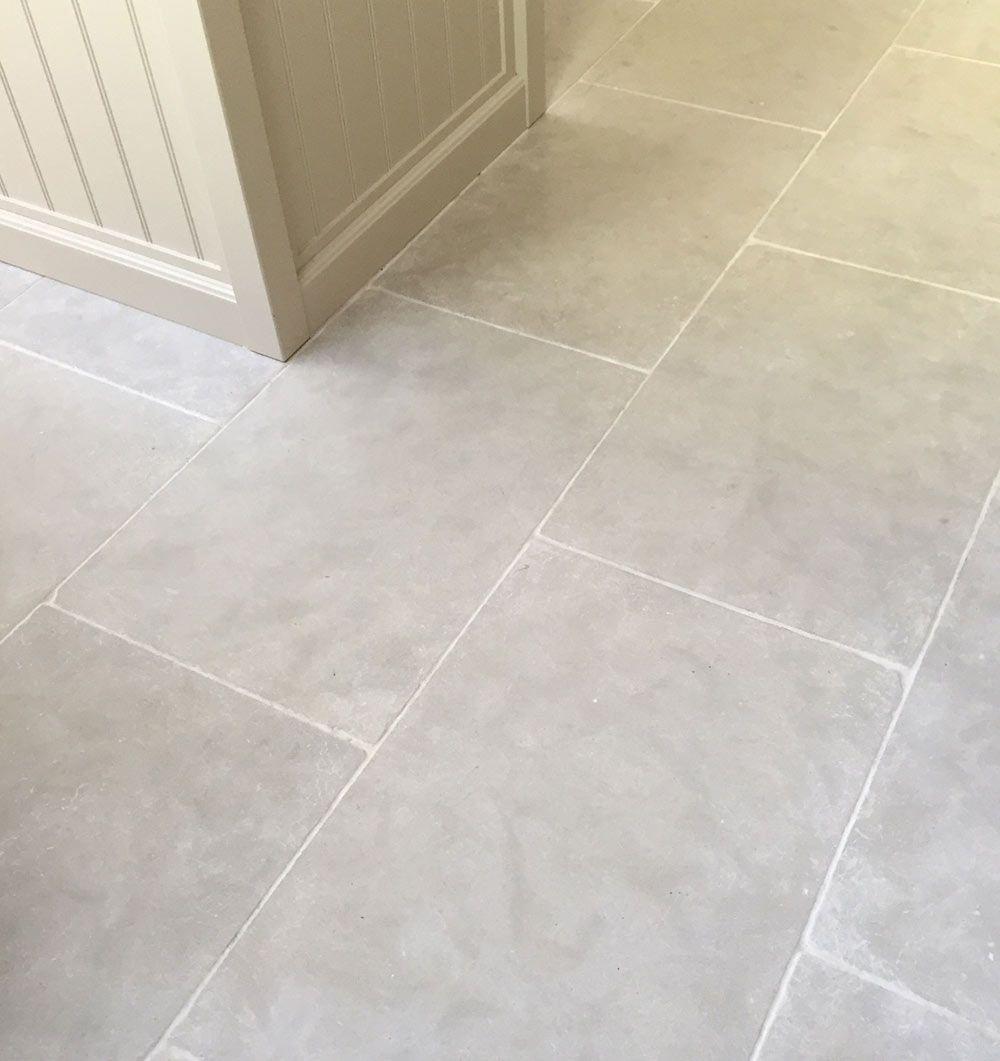Paris grey limestone kitchen flooring downstairs bathroom tile flooring paris grey limestone kitchen flooring doublecrazyfo Image collections