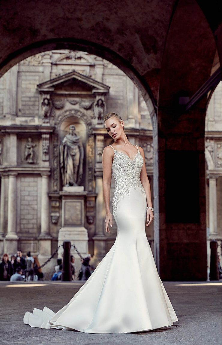 Eddy K Milano Style MD212 - Mermaid wedding dress | itakeyou.co.uk #weddingdress #wedding #weddingdresses #weddinggown #bridalgown #bridaldress #weddinggowns #engaged