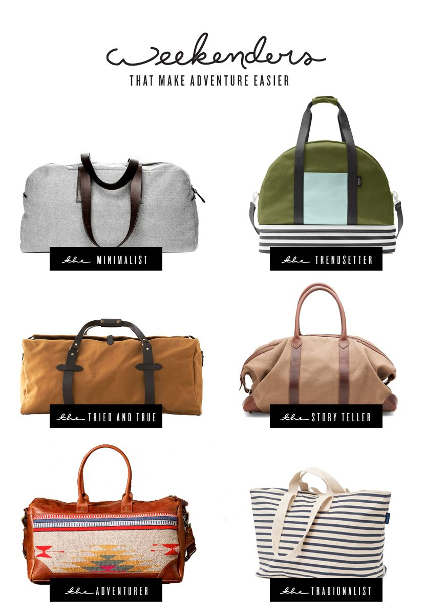 6 Weekender Bags that Make Adventure Easier | The Fresh Exchange ...