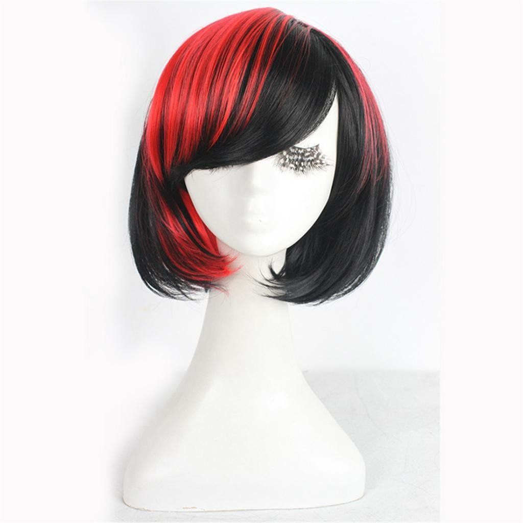 Amazon whatabeautifullife short brown black mix bob natural