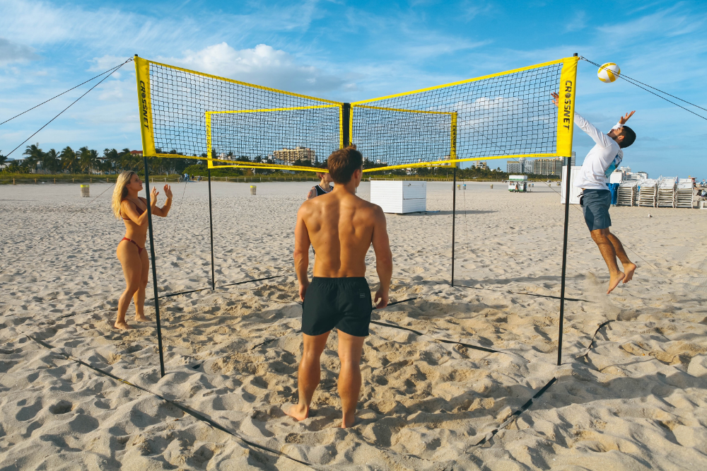 Sports & Outdoors Volleyball, Four square, Volleyball net