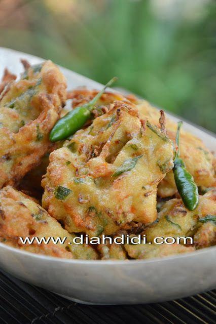 Diah Didi S Kitchen Bakwan Tahu Masakan Resep Masakan Makanan Pedas