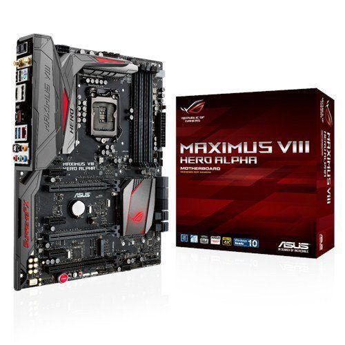 ASUS ROG MAXIMUS VIII HERO ALPHA ATX DDR4 3000 LGA 1151 Motherboards on sale at briginfo.tk http://bit.ly/1RSYzxP 5-way Optimization with 1-click overclocking Reinvented SupremeFX 2015 Audio with top-to-bottom upgrades Intel Gb LAN & MU-MIMO 2T2R 802.11ac for lag-free gaming