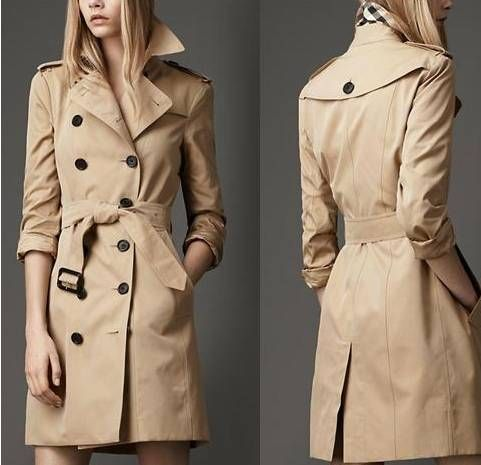 ae36d64b648a Burberry Women Trench Coat - I am buying myself one this winter when I am  saving up a bunch of money from my housing allowance. I have a black wool  trench ...