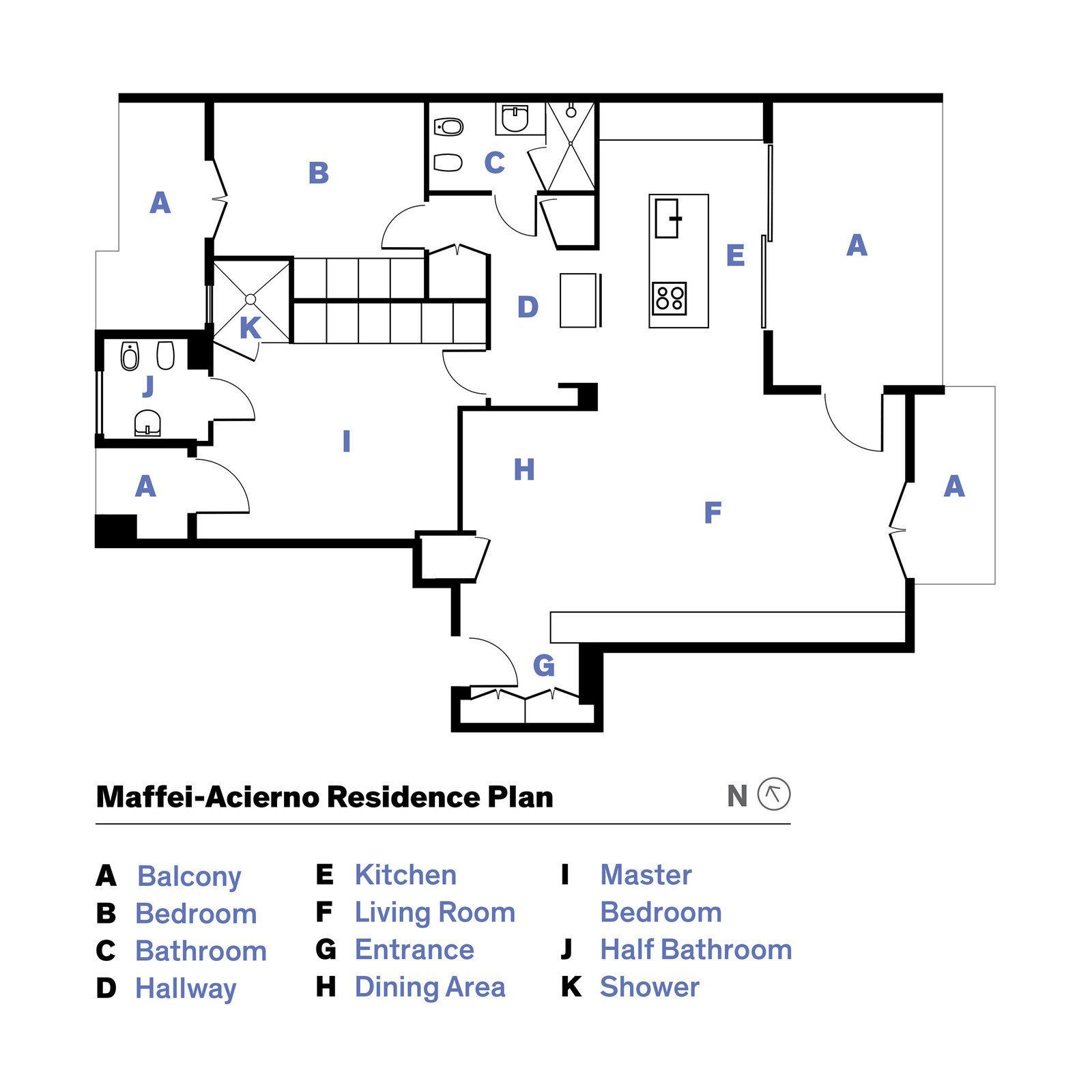 Photo 15 Of 15 In This Growing Family Maximizes Every Last Inch In Growing Family Rendered Floor Plan Modern House