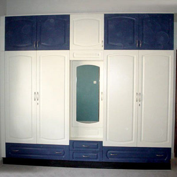 Wooden Cupboard Designs For Bedrooms Indian Homes here are blue and white bedroom cupboards. | mesa noche niños