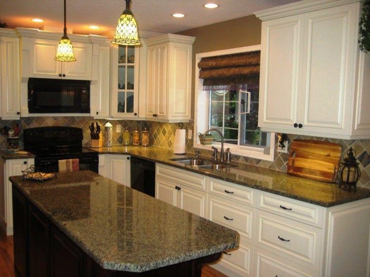 Brown And Cream Kitchen Ideas Kitchen Wall Colors Cream Kitchen Cabinets Kitchen Cabinet Colors