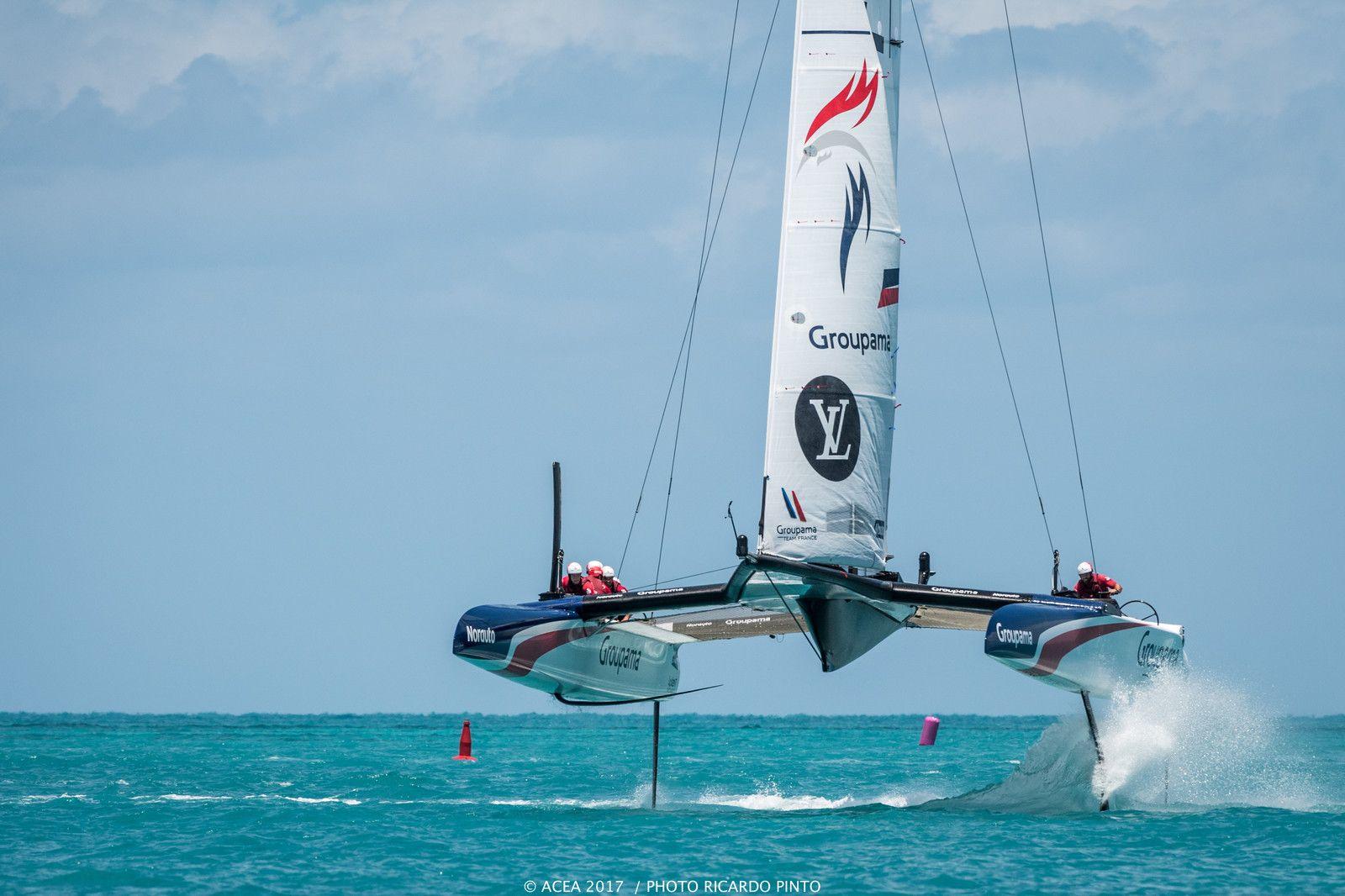 America S Cup Bermuda 2017 Final Practice Race Period Day 2 Results Catamaran Racing News Design Catamaran Sailing Catamaran Sailing Yacht