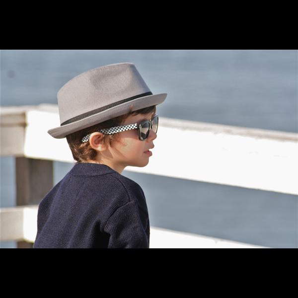 Instant Download Little Prince Fedora Black Hat Vintage Baby Boy