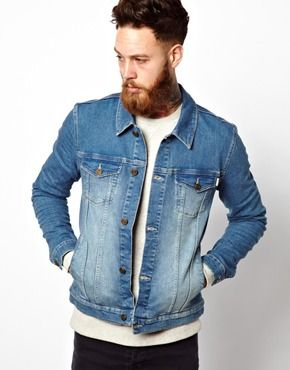 ASOS Denim Jacket In Skinny Fit | Coats and Jackets | Pinterest ...