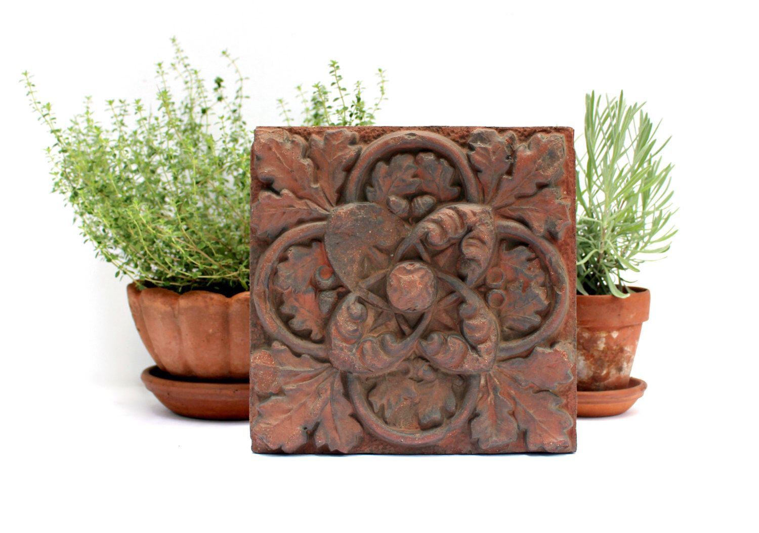 reserved for lyle - victorian terracotta brick - antique pressed