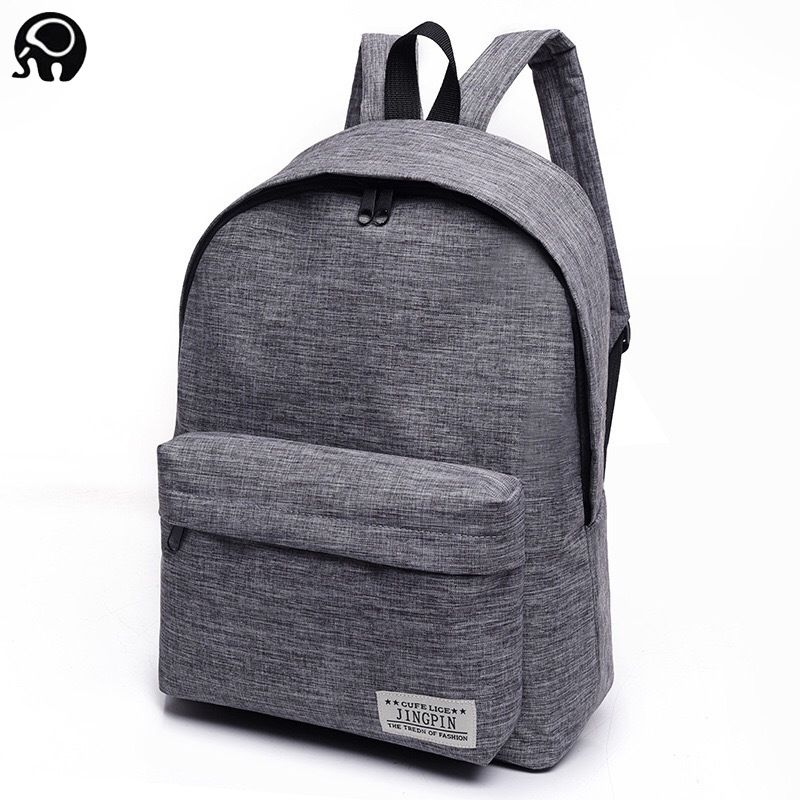 ee6cf6738137 2018 Men s laptop backpack computer school backpacks rucksacks leisure for  teenage boys mochila male Escolar Gray