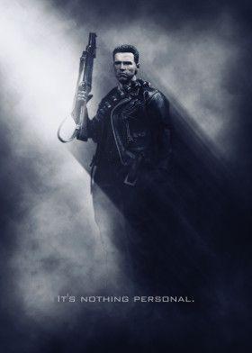 Terminator / Tagline | Displate thumbnail
