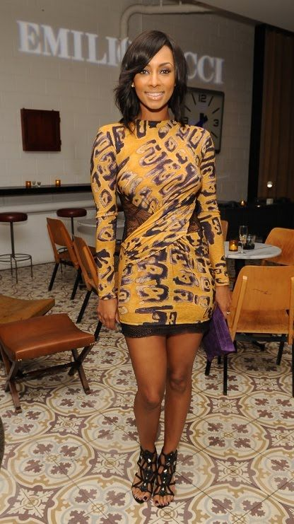 Keri Hilson Pucci Tribal Dress | Fashionaddictive ...