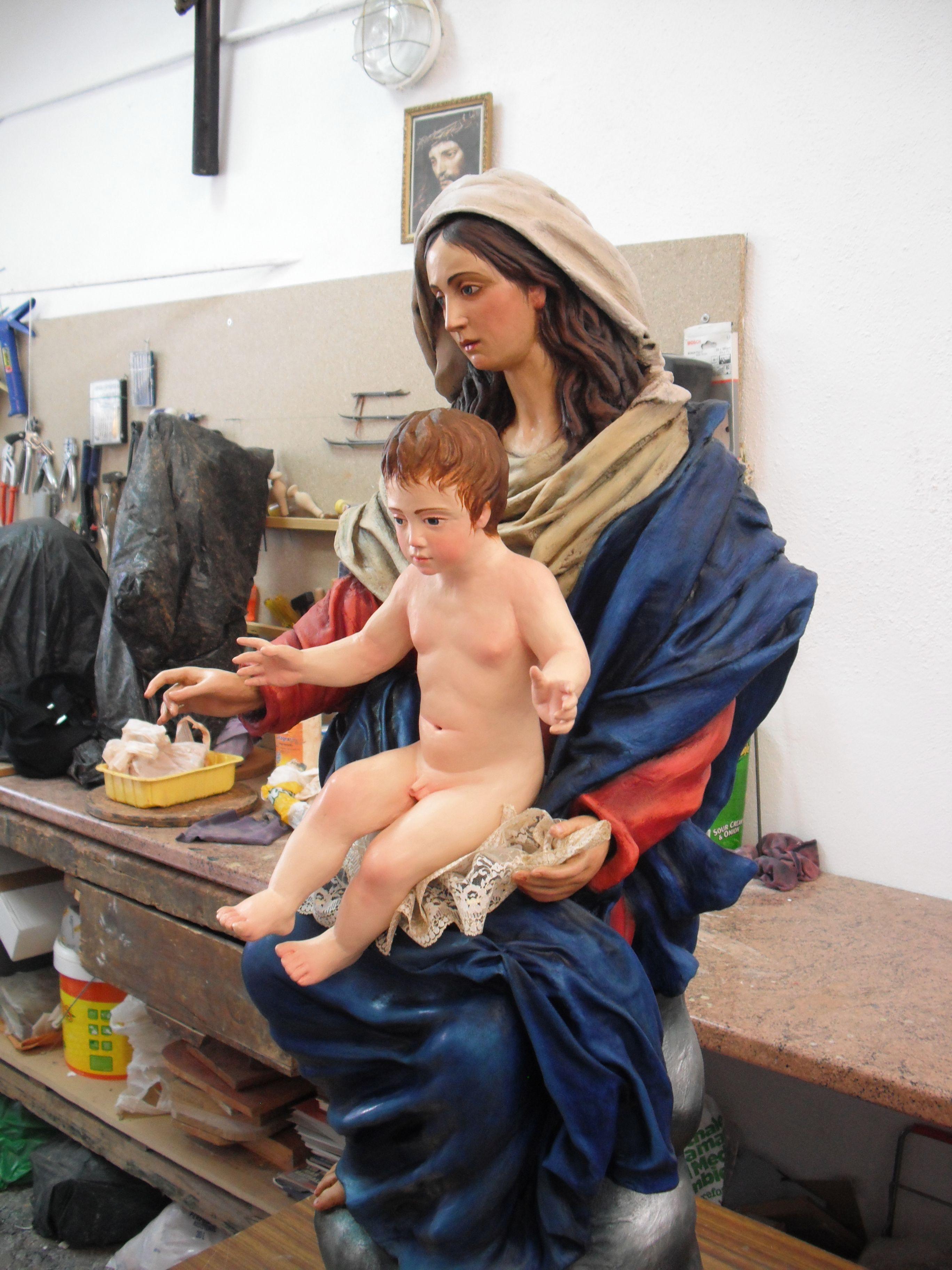 imagen de santa maria madre de dios