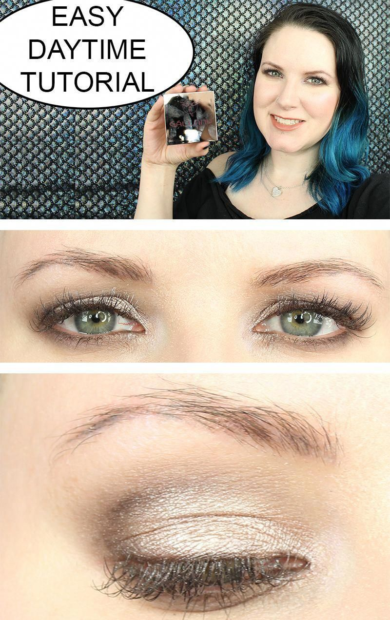 Gallany Easy Daytime Tutorial Natural eye makeup