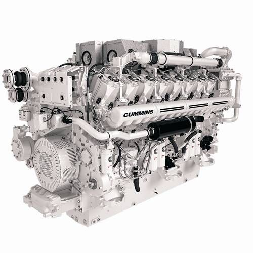 Cummins Brings Its Marine Engines To Monaco Cummins Engineering Diesel Engine