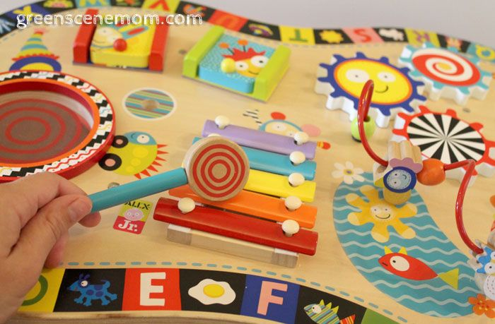 Perfect The Sound U Play Busy Table Encourages Children To Play Together  Sidebyside.