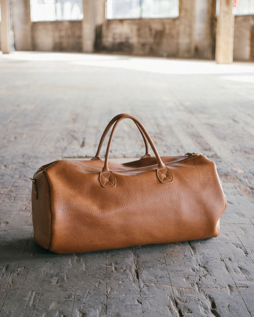 1568be5d3774 Leather Duffel Large