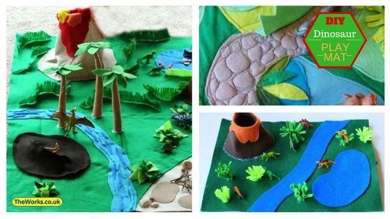 Toys & Hobbies Animals & Dinosaurs Dinosaurs And Playmat