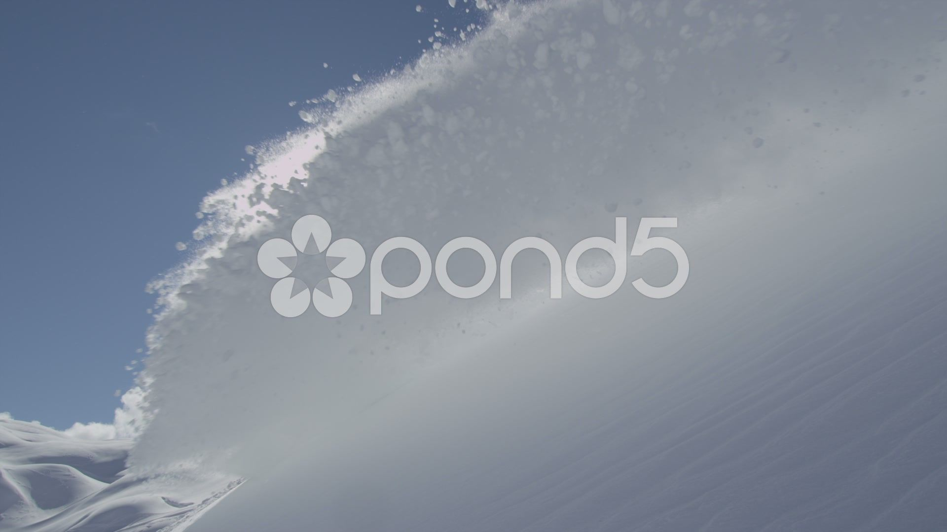 Slow Motion Snow Avalanche Stock Footage Snow Motion Slow Footage Logo Design Vintage Fashion Snow Avalanche