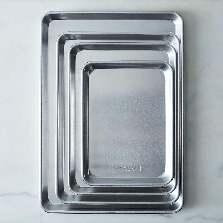 Nordic Ware Naturals Aluminum Baking Sheets, 5 Siz