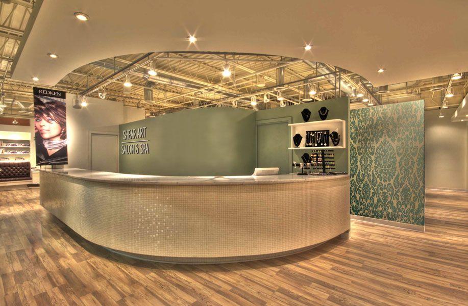 Ordinaire Reception | Shear Art Salon U0026 Spa   Tampa FL | By NUVO DESIGN INTERIORS  Tampa