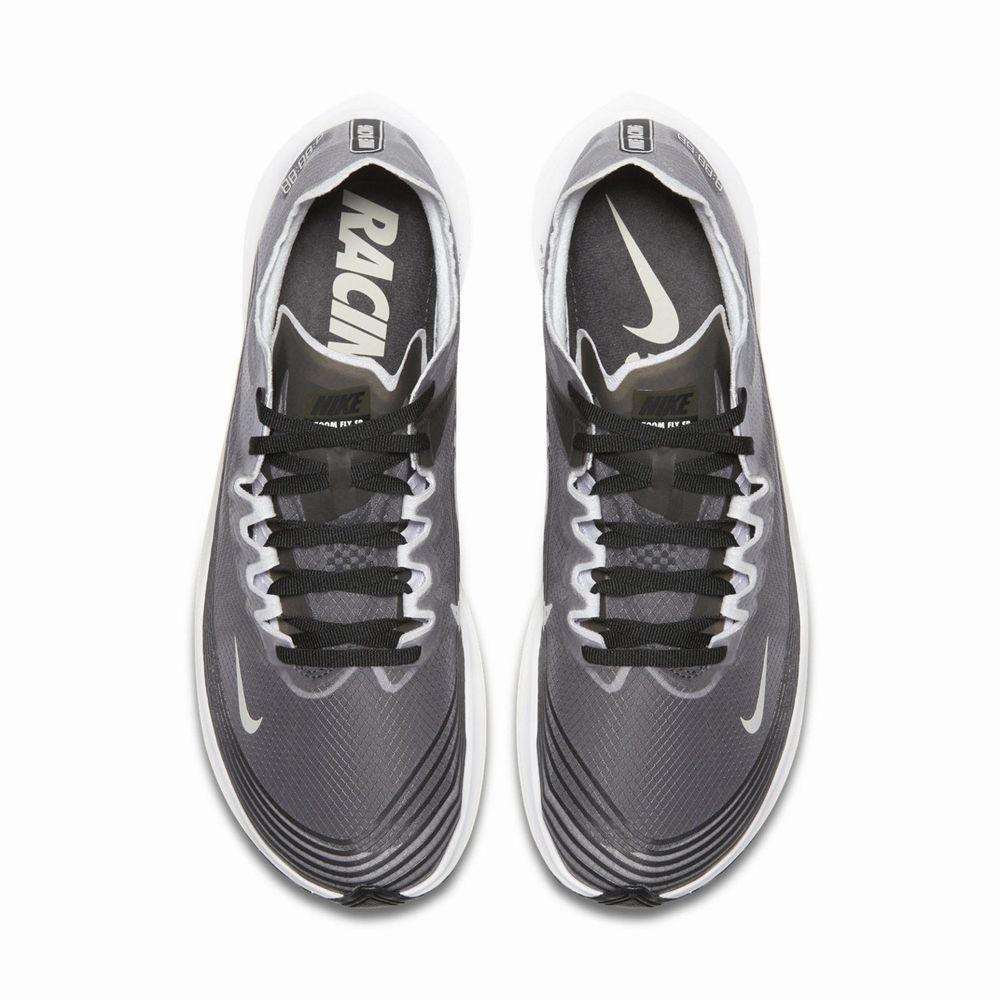 894e894f352 Nike Zoom Fly SP Black White Light Bone React Element 87 AJ9282-001  Nike   AthleticSneakers