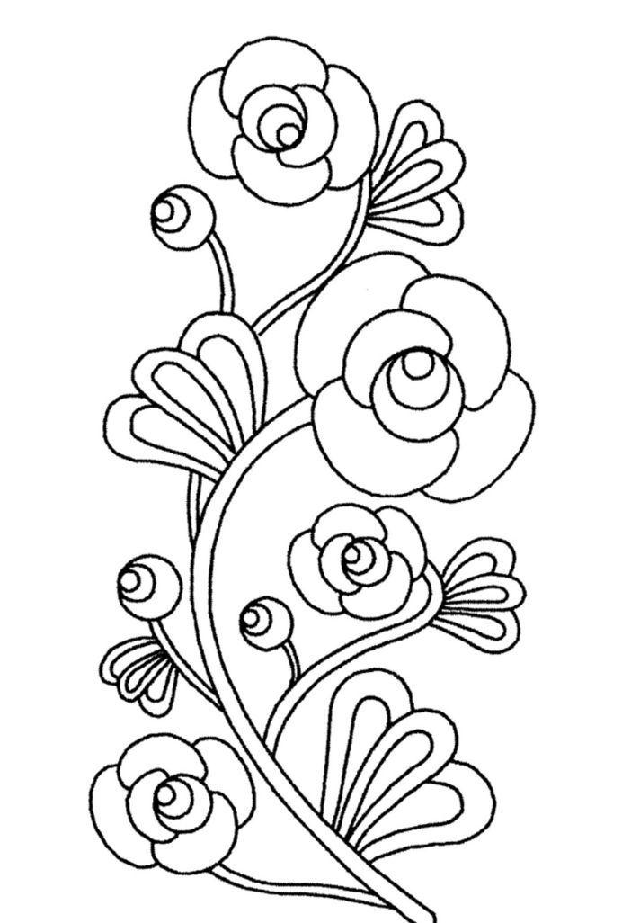 imagenes de flores para dibujar