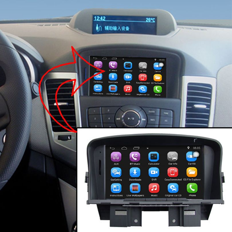7 inch Capacitance Touch Screen Car Media Player for