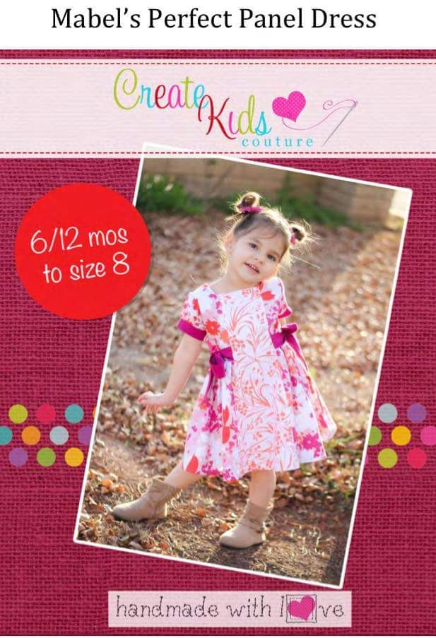 Sew Very Rachel FB Dress Patterns Mabel's Perfect Panel Dress By CKC Cool Ckc Patterns