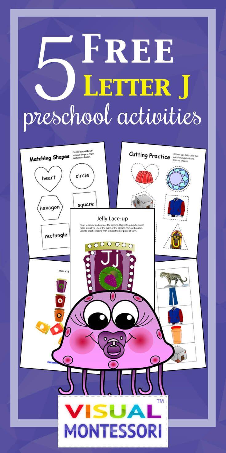 5 Free Preschool Alphabet Letter J Activities For Prek Letter J Activities Preschool Alphabet Letters Alphabet Preschool [ 1470 x 735 Pixel ]
