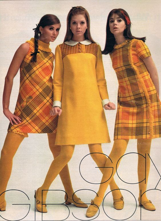 1967 Gay Gibson with Regine Jaffrey Terry Reno Colleen Corby