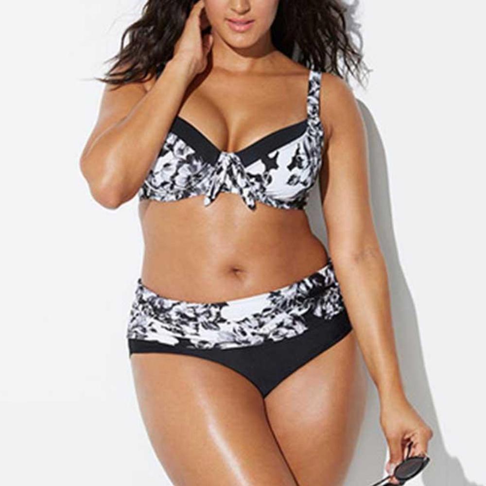 Womens Tankini Swimsuits Womens Plus Size Swimming Split Swimsuit Swimwear Push Up Beach Bikini Sets