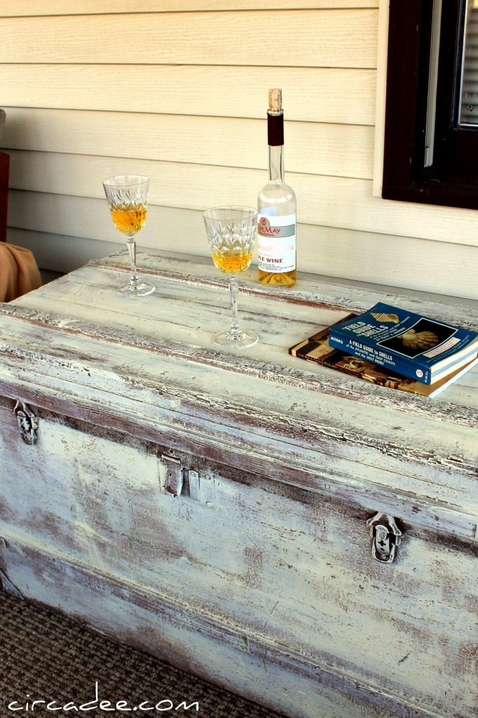 painted trunk/ very distressed | My home-y | Pinterest | Muebles ...