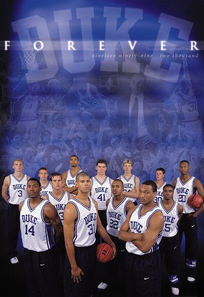 1999 2000 Duke Blue Devils Basketball Duke Duke Blue Devils