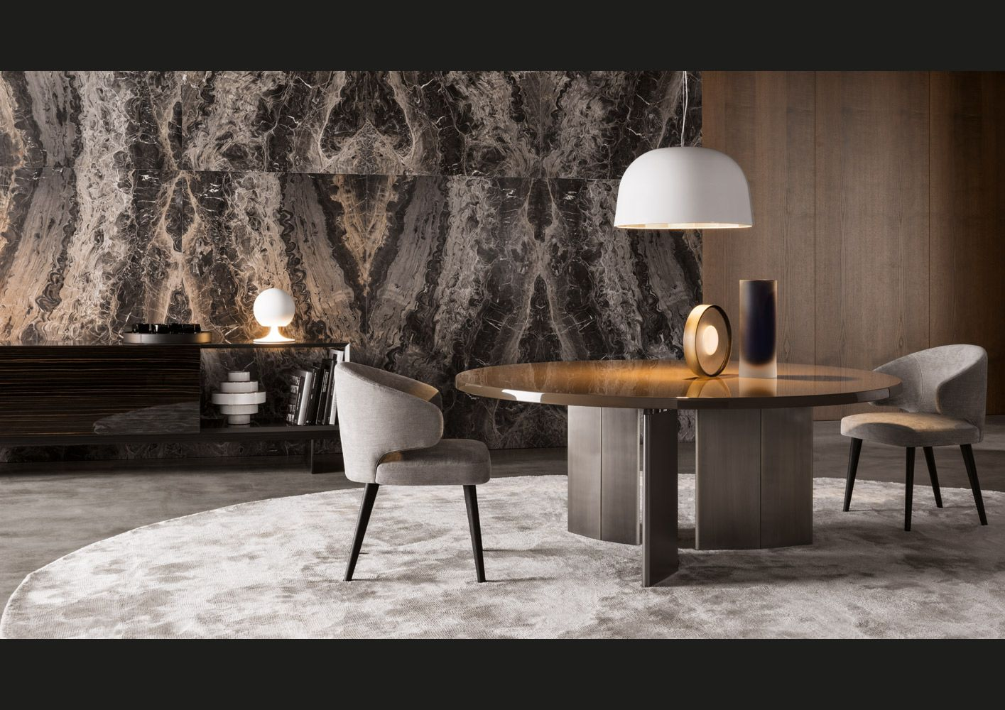 32 Stylish Dining Room Ideas To Impress Your Dinner Guests: Estilo Contemporaneo