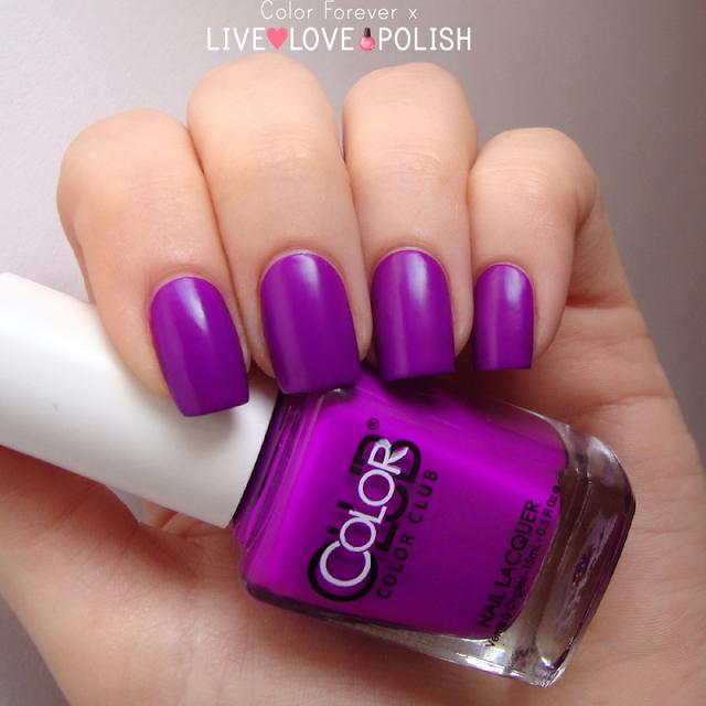 Color Club Disco Dress Nail Polish Swatch   Live Love Polish