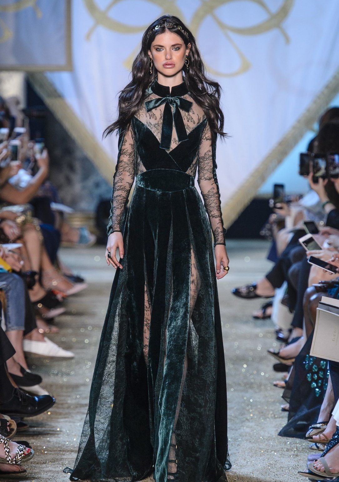 Exceptionnel Elie Saab Haute Couture Herbst/Winter 2017/18 | Elie saab fall  VO26