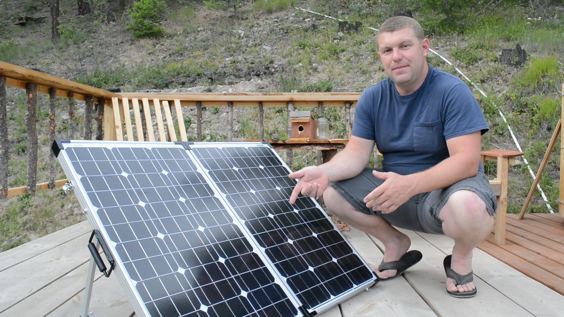 Stupid Easy Portable Solar Panels For Rv Off Grid And Camping Portable Solar Panels Solar Panels Best Solar Panels