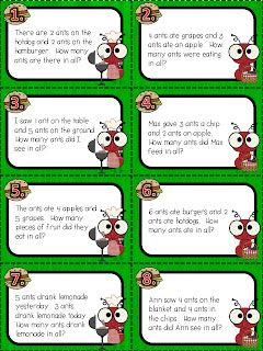 Simple Addition-First Grade Math (word problems too ...