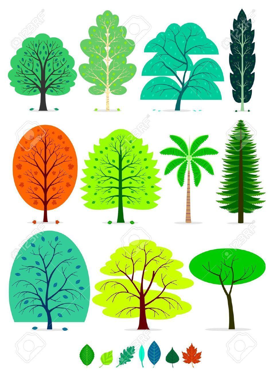 Resultado De Imagen Para Sombra Debajo De Un Arbol Animado Tree Drawing Oak Tree Drawings Tree Drawing Simple