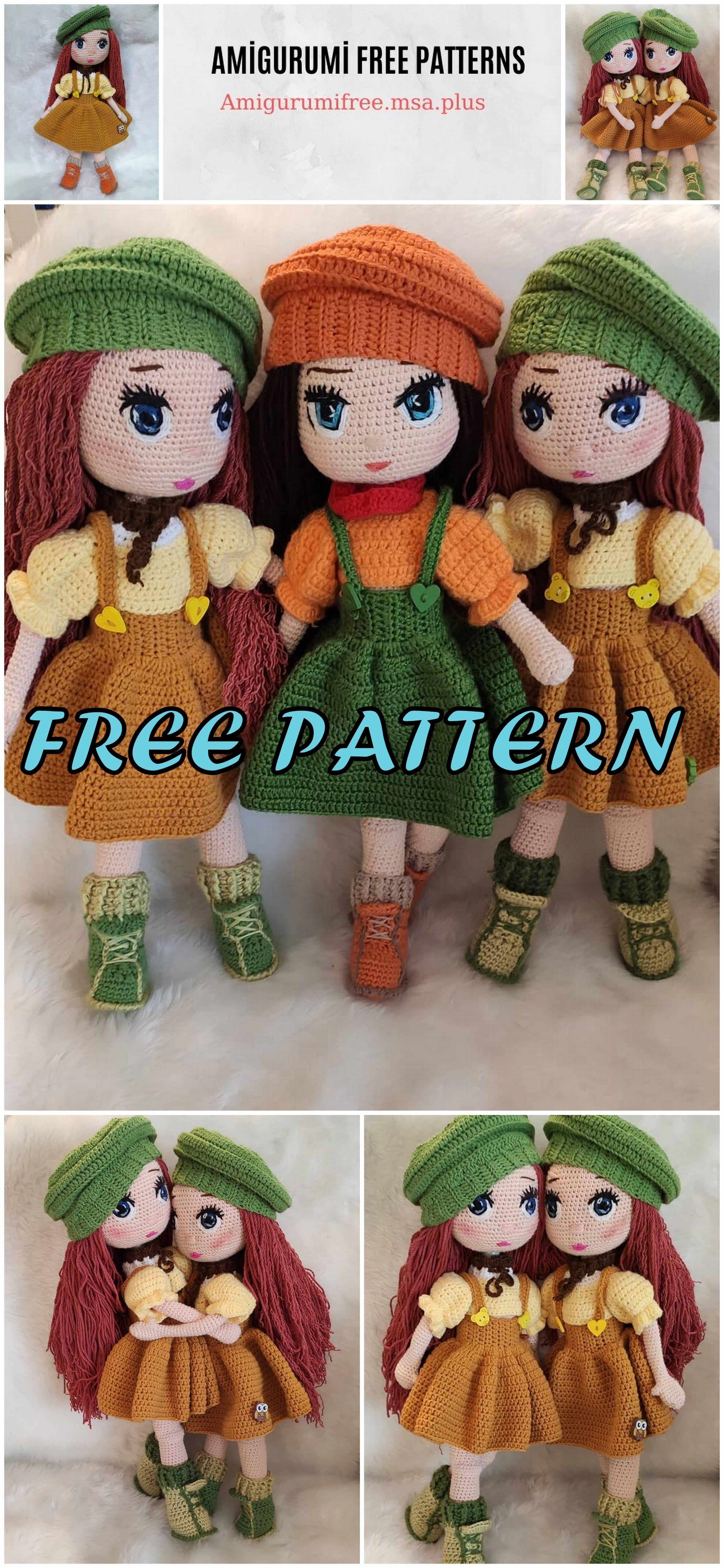 Amigurumi Fairy Tale Doll Free Crochet Pattern #toydoll