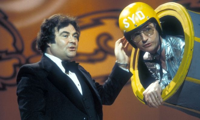 Comedy duo Little and Large