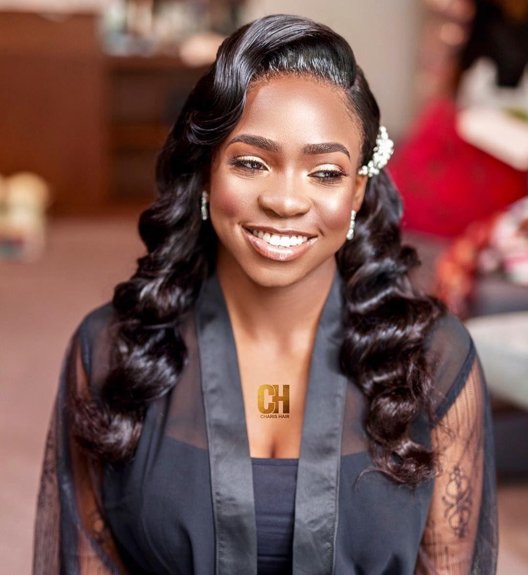 Bridal Hairstyles 41 Wedding Hairstyles For Black Women Click042 Black Wedding Hairstyles Wedding Hairstyles For Women Wedding Hairstyles Bridesmaid