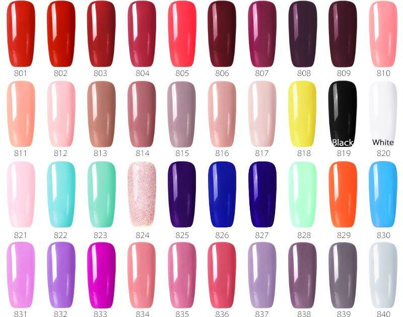 Free Shipping 1pc55 Colors Nail Gel Polish Gdcoco Cheap Price Long Lasting Gel Nail Polish Canni Supply Primer Base Coat N Gel Nail Colors Gel Polish Gel Nails