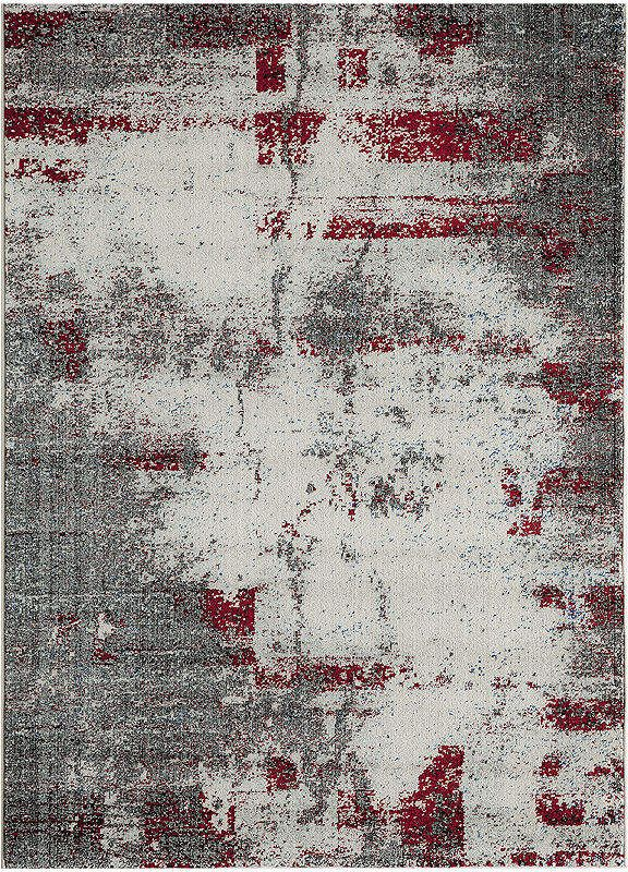 Momeni Loft Metro Rectangular Rug Contemporary Area Rugs
