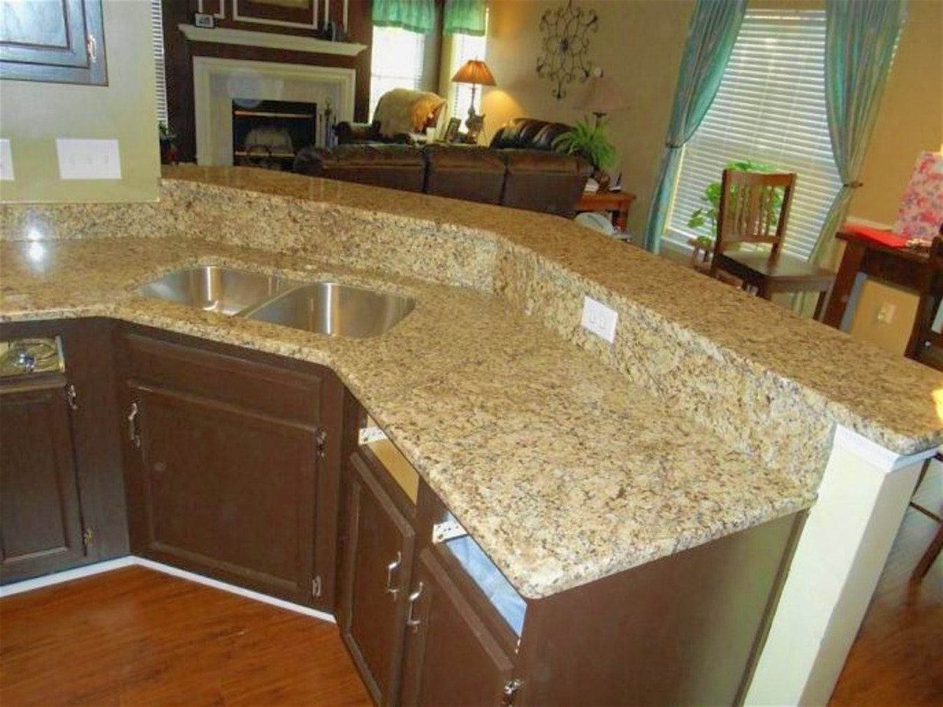 Genial 2018 Cost To Install Granite Countertop   Apartment Kitchen Cabinet Ideas  Check More At Http: