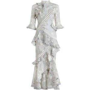 ZIMMERMANN Stranded Embroidery Dress