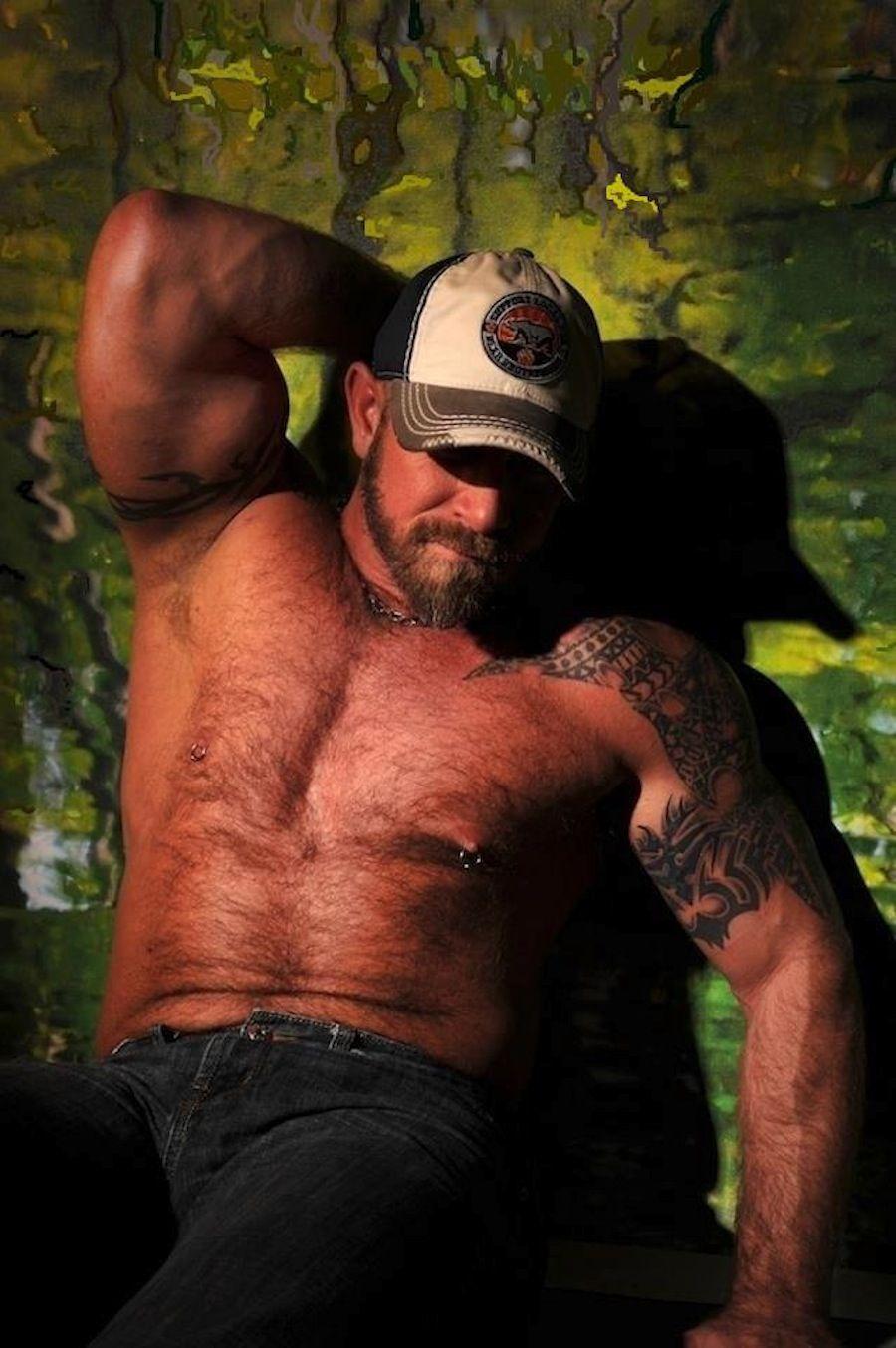 Muscle Woof On Instagram Bears: Hairy Muscle Daddy. Men. Beards. Steel. Woof!